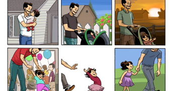 Comic Captures The Complex Emotions Parents Watching Kids Grow Up