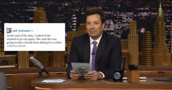 Jimmy Fallon Shares His Viewers' #MyWorstDate Tweets