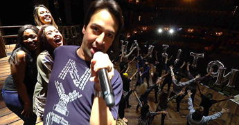 Lin Manuel Miranda And The 'Hamilton' London Cast Celebrate Opening Night With Epic Mashup