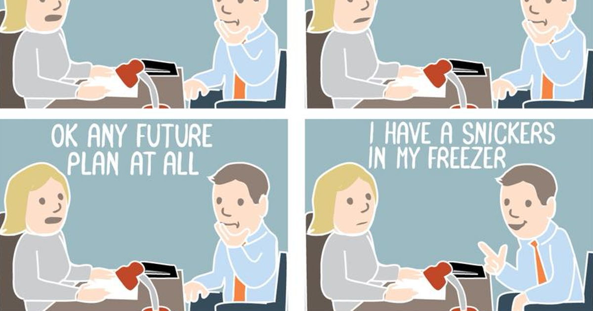 10 Hilarious Job Interview Comics That Sum Up The Awkwardness Of It All