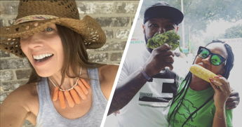 People Are Taking Selfies With Veggies, And Here's Why You Should Too