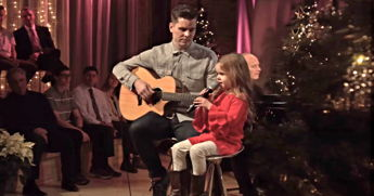 Let This 5-Year-Old Warm Your Heart As She Sings 'Let There Be Peace On Earth' With Her Dad