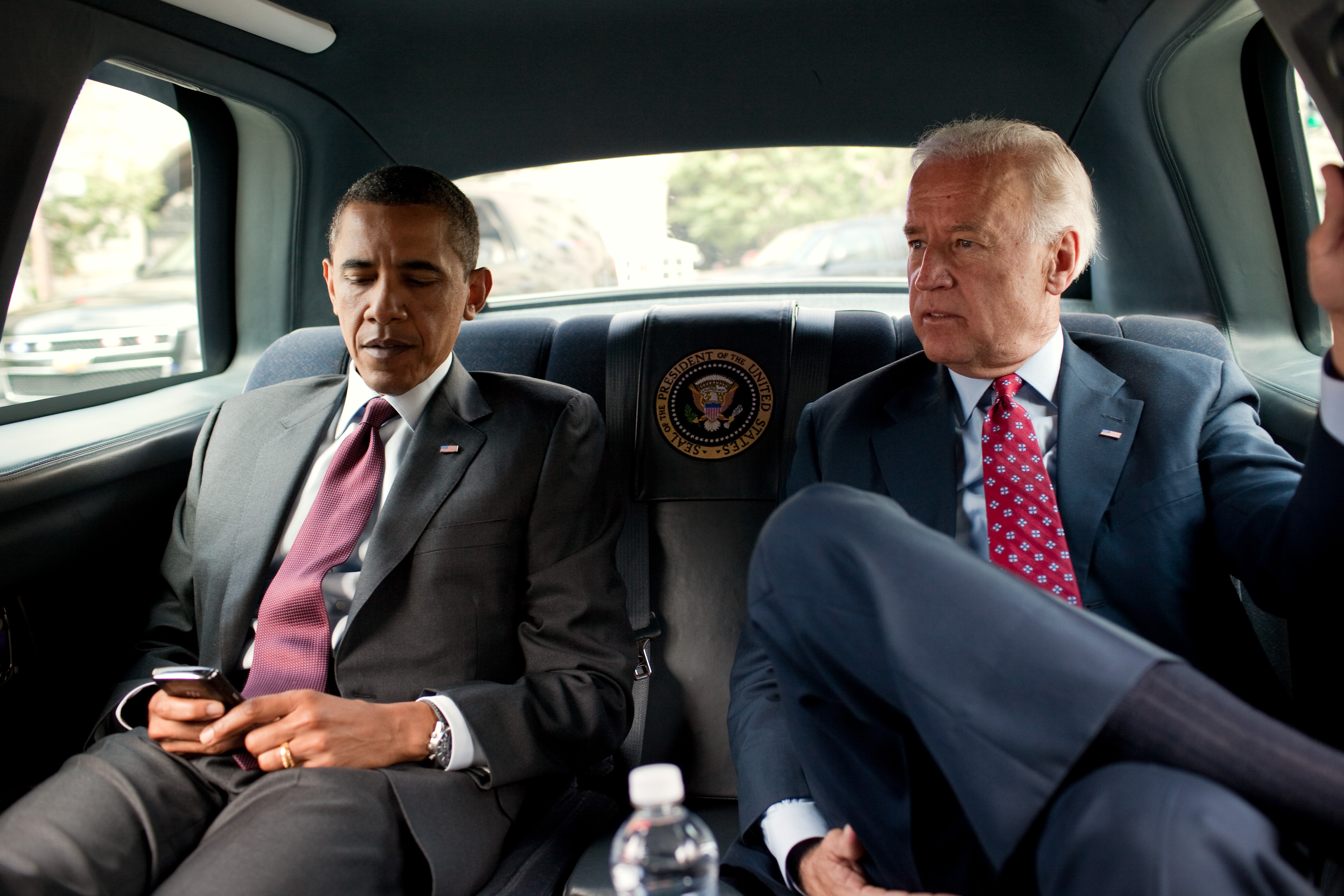 Obama and Biden in 2010. White House Photo by Pete Souza.