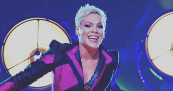 Pink Forgot The Words To Her Own Song During A Concert, Because Nobody's Perfect