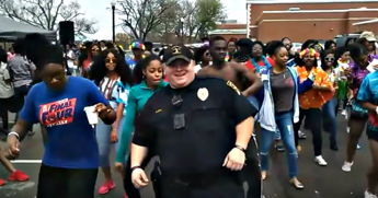 This Police Officer Has All The Right Moves When It Comes Interacting With His Community