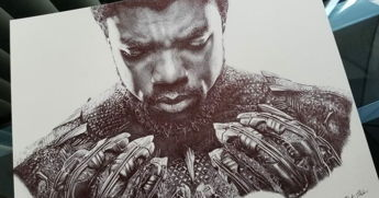 When An Artist Shared Her 'Black Panther' Artwork, Chadwick Boseman Took Notice