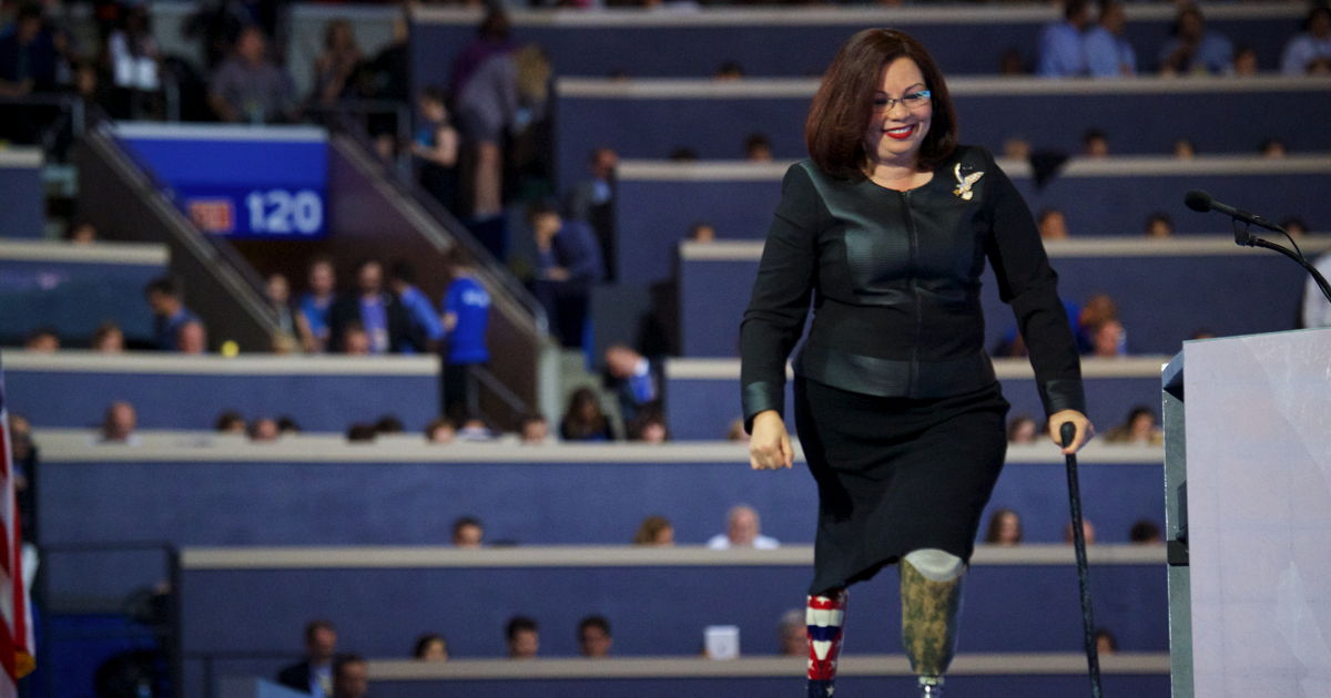 Congratulations are in order for Tammy Duckworth! The Illinois senator announced earlier today, April 9, that she had given birth. Little Maile's arrival marks the first time a sitting U.S. senator has given birth while in office.
